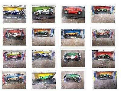 Atlas Editions Grand Prix Diecast Legends of Formula 1 Collection F1 1:43 Scale