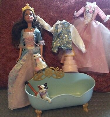 Barbie Erika Doll from Princess and the Pauper with accessories