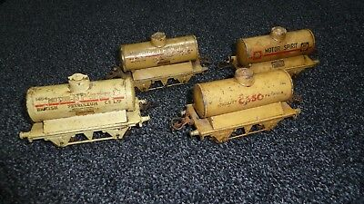 Hornby O Four Tanker Wagons