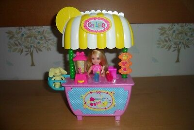 Barbie Chelsea Lemonade and Smoothie Stand Playset