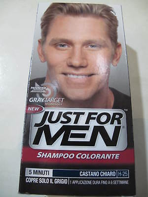 JUST FOR MEN - Shampoo Colorante - Castano Chiaro. - EUR 8 e9e8812cfa27