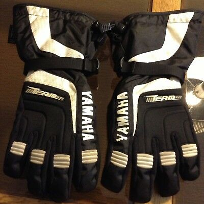 Yamaha snow mobiling gloves