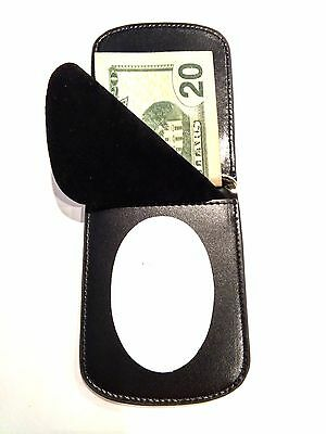 RFID Police Key West Fla  Front Pocket Badge Wallet Bi fold ID C/C B-7938
