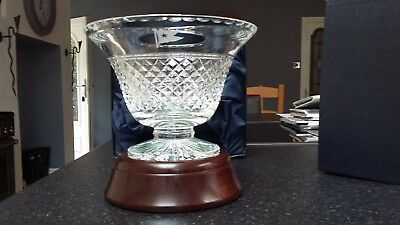 Stuart Crystal White Star/titanic Captains Bowl Limited Edition Numbered