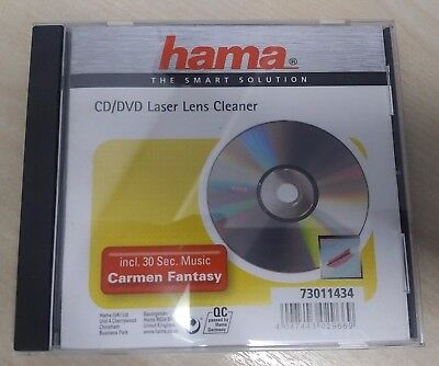 Hama PS3 XBOX 360 CD/DVD Blu-Ray Laser Lens Cleaner Cleaning Kit - Used
