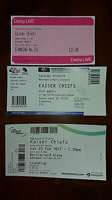 Kaiser chiefs 3 used tickets