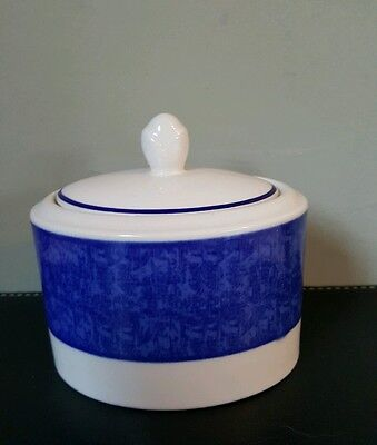 Tesco Henley China Covered Sugar Bowl New