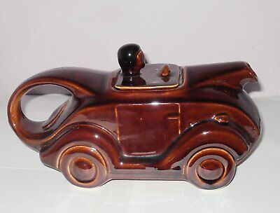 Vintage Sports Car Collector's Teapot
