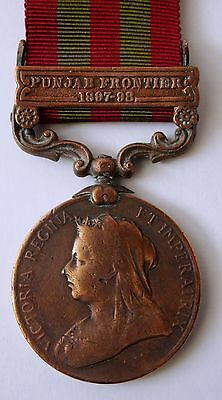 India General Service Medal IGS 1895-1902 in Bronze