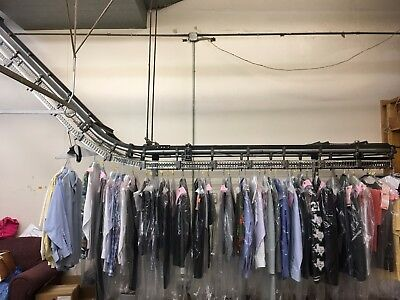 Dry Cleaning White conveyor used. Whole or Parts.