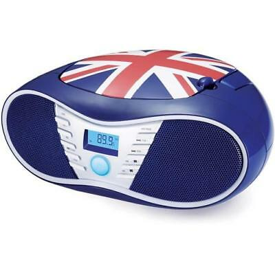 BIGBEN CD58GB Radio CD/USB/MP3 portable - United kingdom - Bleu
