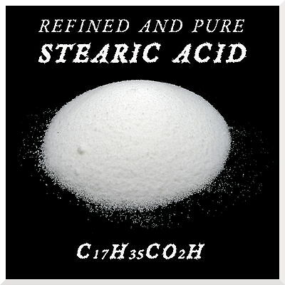 100% Refined Pure Stearin Stearic Acid for Candle Making Cosmetics Multipurpose