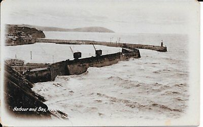 Old Postcard Of The Harbour Watchet