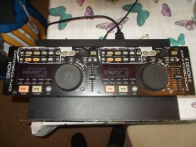 DENON DN-D9000 HIGH END DUAL CD PLAYER AND CONTROLLER UNIT. Used. DJ Disco Gear