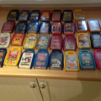 Massive Joblot (N) of 31 packs of Top Trumps - See Pictures (very heavy)