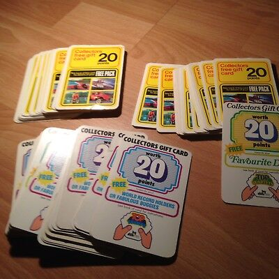 Massive Joblot of Vintage Top Trumps Collectors Gift Cards - See all pics!