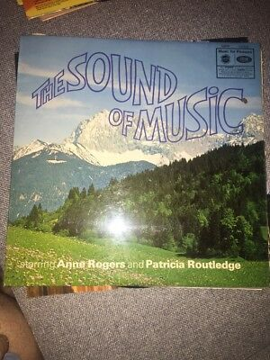 """The Sound Of Music-Rodgers And Hammerstein- LP Album 12"""" Vinyl Record"""