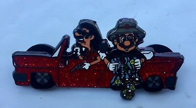 Hunter S Thompson Fear and Loathing in Las Vegas Red Car mario pin