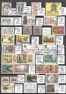 LOT 14  VATICAN X100 Diff STAMPS...
