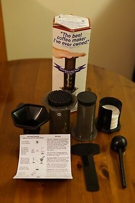 Aerobie AeroPress 3 Cups Coffee Maker - Black