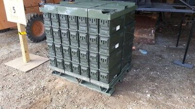 40MM Ammo Can Box PA120 US Army Military  Ammunition Metal Storage  56 /pallet