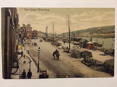 vintage postcard, Waterford, The Quay, early view, local publisher