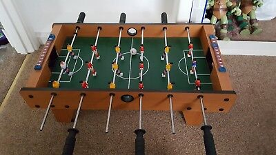 Football Table. Table top item. 2 balls. Unwanted item.