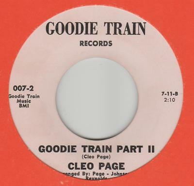 Cleo Page Goodie Train Goodie Train 007-1 EX-