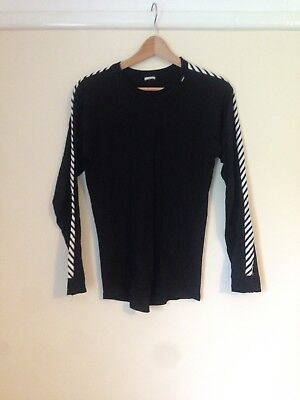 Helly Hansen Black Thermal Top Size Large