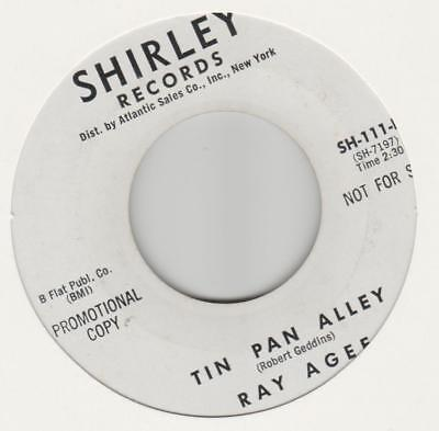 Ray Agee You hit me where it hurts Shirley SH-111 EX promo