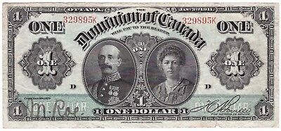 $1 Dominion of Canada 1911 - large old note