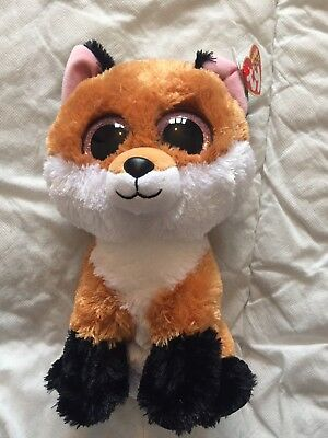 Medium Fox Ty Teddy BNWT