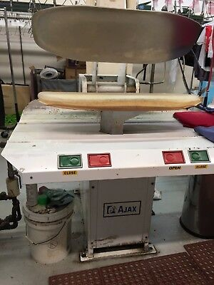 AJAX Hot Head Dry Cleaning Press