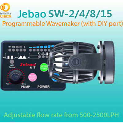 Jebao SW 2 4 8 15 wavemaker pump coral reef aquarium with Wireless Controller