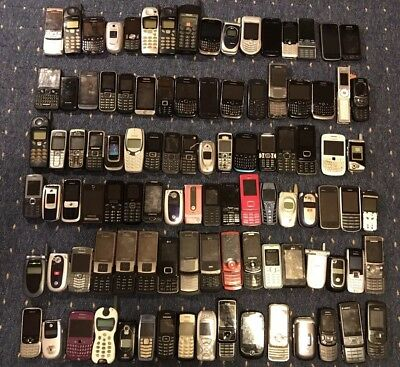 Joblot 100 x faulty mobile phone