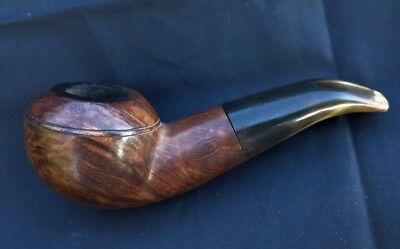 ANCIENNE PIPE SINA BULLDOG ANTIQUE SMOKING FRENCH BRUYERE BRIAR oppenheimer
