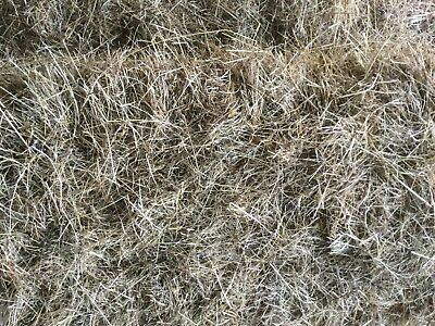Small rectangular bale of meadow Hay