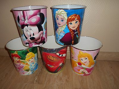 Poubelle Corbeille A Papier Cars Princesses Minnie Frozen 4€ Pcs Neuve