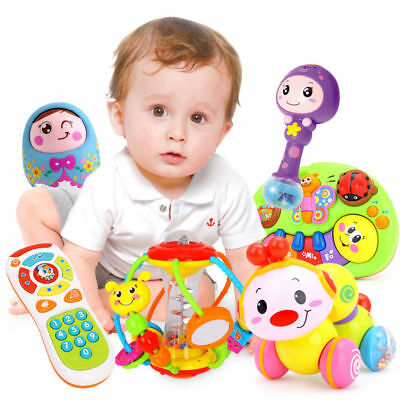 Music toy for children crawling insects baby toys 6-12 months puzzle early musi