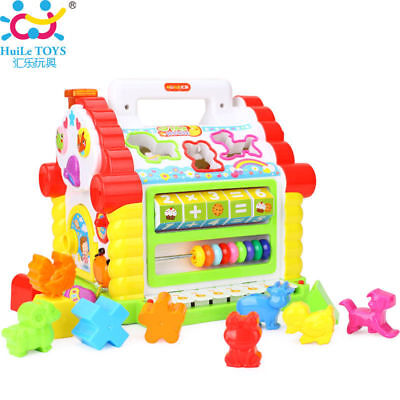 HUILE TOYS 739 Multifunctional Musical Toys Baby Fun House Musical Electronic