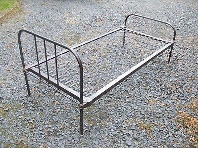 victorian iron single bed