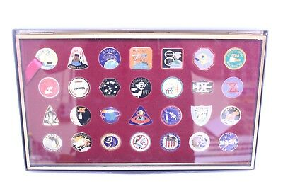 Nice International Aerospace Cloisonne Medallion Collection Mint In Box