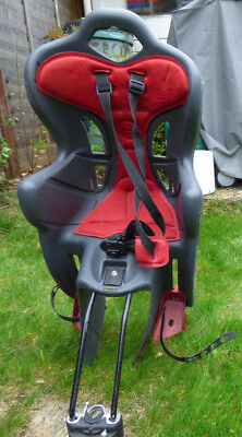 Child's rear bike seat from Halfords B one max weight 22kg.