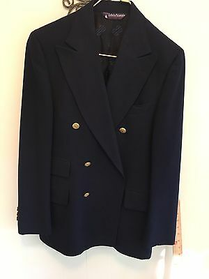 Vintage-Bill Blass, Men's Double Breasted Blazer