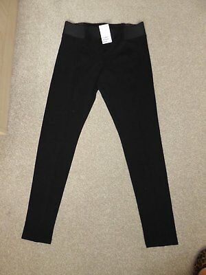 H And M Black Leggings Size 10-12