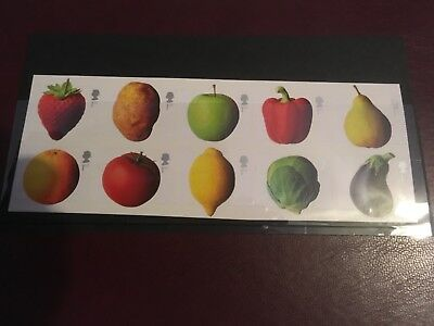 G.B. Stamps Fruit and Vegetables.  2003 MNH