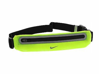 Nike Expandable Lean Running Waist Pack Reflective Volt Black
