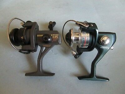 Shimano AXUL-S and Quantom Micro Ultra-Light Reels