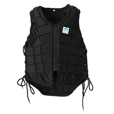 Pro Safety Equestrian Horse Riding Vest EVA Padded Body Protector Kids CL