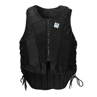 Pro Safety Equestrian Horse Riding Vest EVA Padded Body Protector Women M